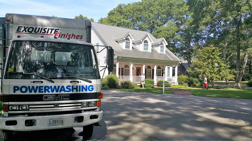 Power Washing House Washing Rhode Island
