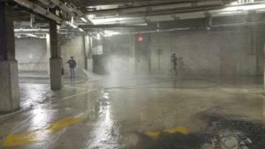 Parking Garage Power Wash Rhode Island