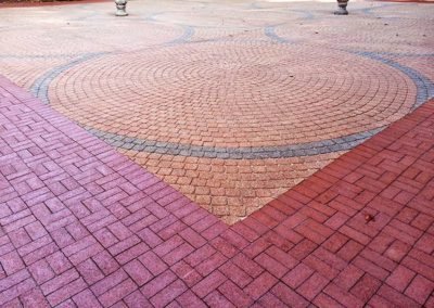 Cleaned & Restored Pavers - Rhode Island